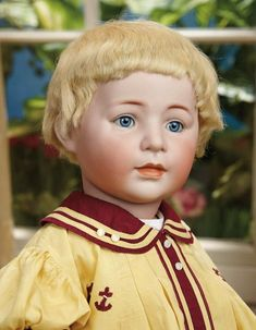 Sanctuary: A Marquis Cataloged Auction of Antique Dolls - March 19, 2016: German Bisque Character, 1488, by Simon and Halbig