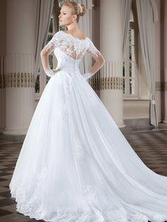 Vestidos de noiva - Coleção Callas (5) Detalhe costas completo