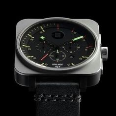 Minus 8 watch.... Sounds cool and fashion...  A little look of Bell and Ross somehow