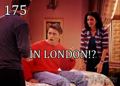 """you....and you???  When?  How?""  haha when Joey finds out :)"