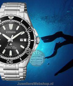 Citizen BN0190-82E Duikhorloge Promaster Sea 200M Eco Drive. #citizen #duikhorloge #dive #duiken #newarrivals #2017 #juwelierswebshop 200m, Citizen Watches, Watches Photography, Breitling, Rolex Watches, Diving, Sea, Scuba Diving, Ocean