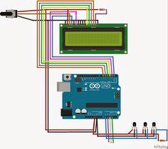 Version afficheur 128X64 Aujourd'hui, je vous propose la réalisation d'un thermostat a affichage digital utilisant 1 a 10 sondes ds18B...