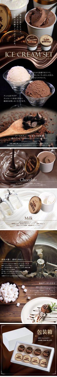 チョコレートアイスクリームLP作成