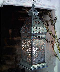 Rubu antiqued windlight from Lombok