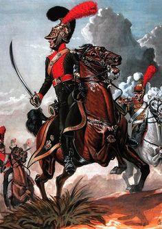 """""""Officier, Soldat et Trompette du 1er Régiment de Lanciers 1812-1814"""", Sergei Letin"""