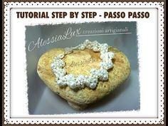 DIY tutorial bracciale da sposa con perline perle e cristalli- italian-English gioielli fai da te - YouTube