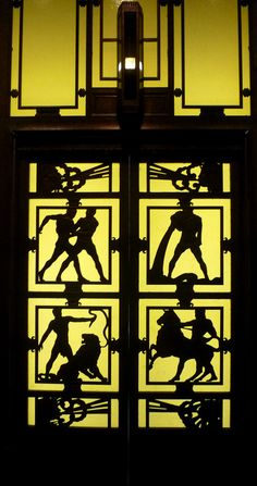 Originally installed in Selfridges in 1928, the doors to this Deco elevator are now displayed in the Museum of London.