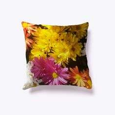 Beautiful Colorful Flowers Products from King Clothes&More | Teespring King Clothes, King Outfit, Colorful Flowers, Throw Pillows, Beautiful, Products, Toss Pillows, Cushions, Decorative Pillows