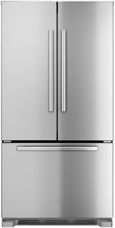 "B22CT80SNS in Stainless Steel by Bosch in Bridgewater, NJ - 36"" Counter-Depth French Door Bottom-Freezer 800 Series - Stainless Steel"