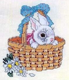 Gallery.ru / Фото #50 - Зайки - COBECTb ... Peek-a-Boo Bunny - 1 of 2