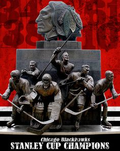 Blackhawks - Stanley Cup Champions Canvas