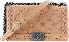 Boy Chanel Threaded Flap Bag Style code: A94733 Size: 5.9′ x 9.8′ x 3.5′ Price:$4,200 USD