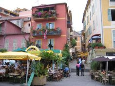 Village of Villefranche Sur Mer, France See where this picture was taken. Villefranche Sur Mer, Travel Memories, Street View, France, Beautiful, Travel Souvenirs, French