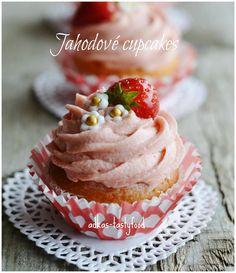 .. chute a vône mojej kuchyne...: Jahodové cupcakes