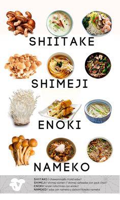 SHIITAKE: Las setas shiitake con originarias de China y son muy utilizadas  en la cocina japonesa. Su delicioso sabor y sus muchas propiedades la han  convertido en una seta muy consumida en todo el mundo. Entre sus  propiedades se encuentran el ser antioxidante, lo que retrasa el  envejecimiento, además es una alimento anti cancerígeno que fortalece el  sistema inmunológico, favorece la digestión y disminuye el colesterol.  Dentro de la cocina japonesa se utiliza para elaborar dashi ya que…