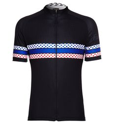 The grand tours King of the Mountains inspires Faucon.cc KOM jersey. The Colours that Matter.
