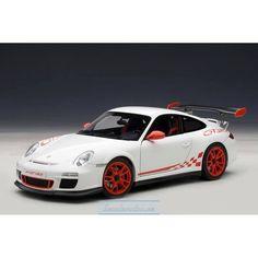 PORSCHE 911 (997) GT3 RS 3.8 (CARRERA WHITE/GUARDS RED STRIPES) 2010