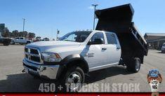 2018 RAM 5500 DUMP TRUCK - Dump Truck Exchange Ford Trucks For Sale, New Trucks, 2018 Ram, Black Door Handles, Front License Plate, Dump Trucks, Limited Slip Differential, Black Doors