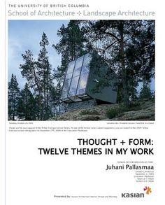 Juhani pallasmaa phenomenology study
