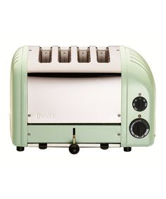 Retro kitchen inspiration from Dualit on #zulily || Now here's a nice toaster. Could totally do with this in red ;)