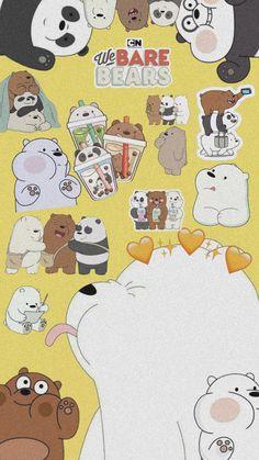 Cute Panda Wallpaper, Bear Wallpaper, Cute Patterns Wallpaper, Cute Disney Wallpaper, Kawaii Wallpaper, Galaxy Wallpaper, We Bare Bears Wallpapers, Panda Wallpapers, Cute Cartoon Wallpapers