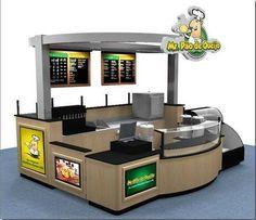Stands de atencion y venta para centros comerciales y ferias
