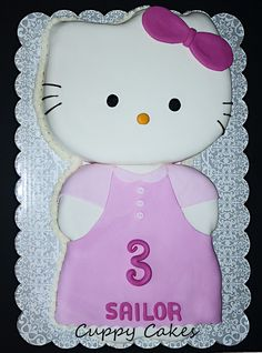 Hello Kitty Cake - disguise as a turkey?