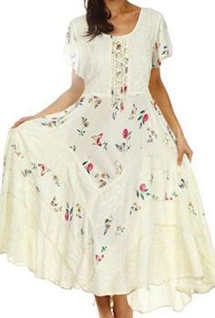 Sakkas-32311-Calliope-Corset-Style-Dress-Ivory-LXL-0