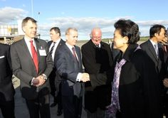 On the 15th April 2012, Belfast International Airport welcomed Liu Yandong, the highest ranking female politician in China's Communist Party, on her first official visit to Northern Ireland. #belfast #bia #airport #liuyandong #china #politicians #visitbelfast #titanicbelfast http://www.belfastairport.com/en/news/1/141/top-chinese-politician-arrives-at-belfast-international-airport.html