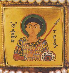 """A hazát meg is kell védeni Damján """"katonaszent"""" Byzantine Gold, Byzantine Jewelry, Orthodox Catholic, Roman Era, Eritrean, Romanesque, Ikon, Medieval, Oriental"""