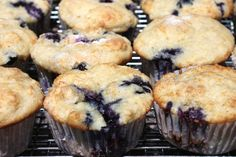 The best blueberry muffin recipe in the world - Eggless. These could use about 5 minutes less in the oven and some lemon extract for addt'l flavor.