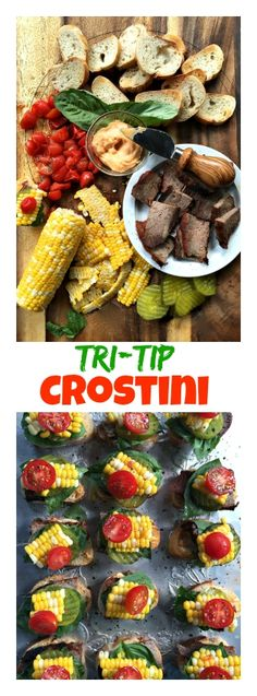 Tri Tip Crostini at ReluctantEntertainer.com
