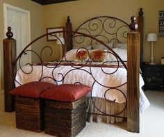 Re-deFIND: DIY Wrought Iron Bed