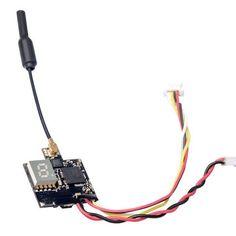 Eachine ATX03 Mini 5.8G 72CH 0/25mW/50mw/200mW Switchable FPV Transmitter w/ Audio
