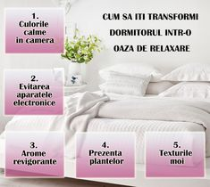 Cum sa iti transformi dormitorul intr-o oaza de relaxare. Vezi mai multe pe tesaturialese.ro Bed, Home, House, Homes, Beds, Houses, Bedding
