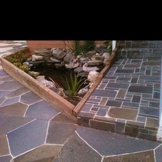 All done with concrete. Amazing product