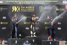 2015 FIA World Rallycross Championship Podium Monster Energy, World Championship, Peugeot, Barcelona, World Cup, Barcelona Spain