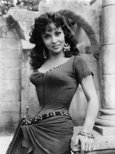 "Gina Lollobrigida - As Esmeralda In ""The Hunchback Of Notre Dame"" (1956)"