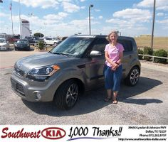 Happy Anniversary to Gregg Galloway on your 2013 Kia Soul from Michael Yaden and everyone at Southwest Kia Dallas!
