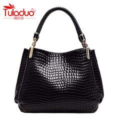 TULADUO 2016 designer Brand Leather bolsas femininas Women bag ladies  Pattern Handbag Shoulder Bag Female Tote Sac Crocodile Bag    Details on  the jewelry ... d3670845e31f5