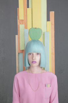 Whimsical Norm Photography - Constructed Reality by Madame Peripetie is Bursting with Pastel Colors (GALLERY). Hair Rainbow, Trends 2016, Pastel Fashion, Color Fashion, Fashion Hair, Girly, Pretty Pastel, Looks Style, Pastel Hair