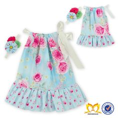 24 sätze/los Entzückende Mädchen Aqua Blaue Blume Kleid Mit Rüschen Und Stirnband Set Dress Up Spiele Kleid Sommer Kinder Kleidung in aus Kleider auf AliExpress.com | Alibaba Group