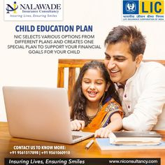 Life And Health Insurance, Life Insurance Agent, Life Insurance Quotes, Education Policy, Kids Education, Life Insurance Corporation, Child Plan, India For Kids, Insurance Website