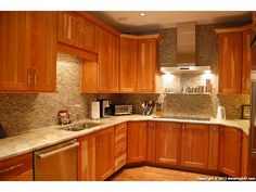 Cherry Kitchen Cabinets cabinets that match brazilian cherry floors | have natural wood