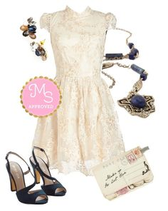 """Ado You Love Me? Dress"" by modcloth ❤ liked on Polyvore featuring Disaster Designs"
