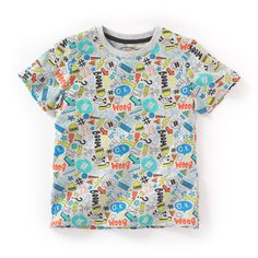 Printed short-sleeved round neck t-shirt R Kids | La Redoute