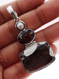 Peanut Wood  Jasper 925 Solid Sterling silver Pendant Jewelry (PNW-10) #Rananjay #HandmadePendant