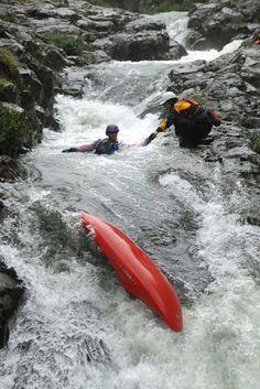 Essential Kayak Skills Rescue Training