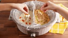 You Can Cook Two Dips At Once With This Genius Slow-Cooker Hack  - Delish.com