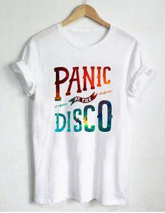 galaxy panic at the disco T Shirt Size S,M,L,XL,2XL,3XL